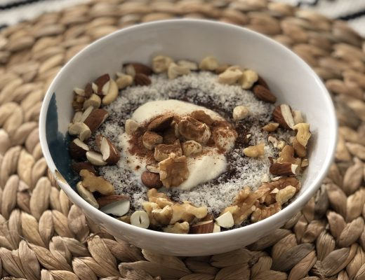 Warm and Cozy oatmeal recipe